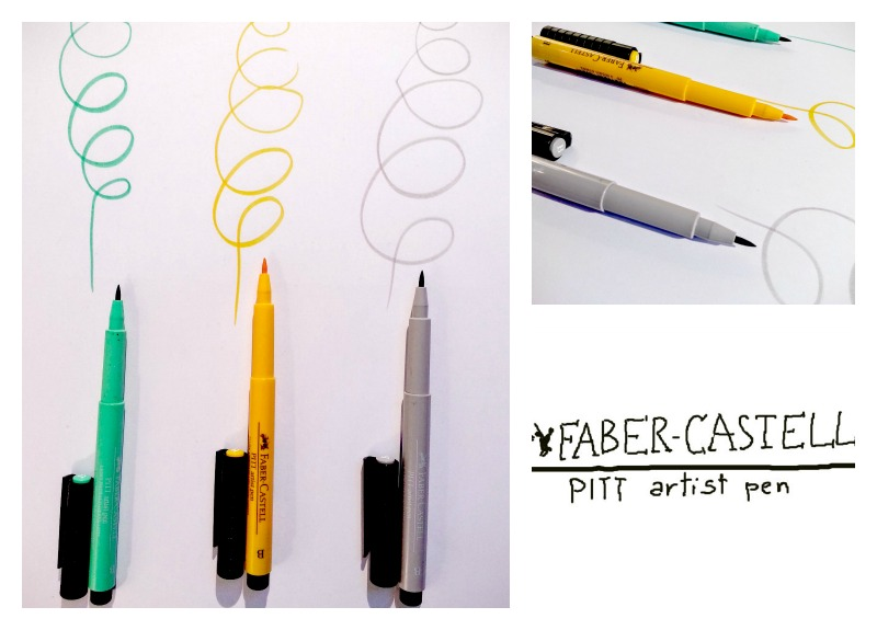 faber castell collage