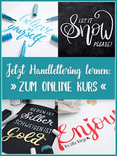 Handlettering Online Kurs